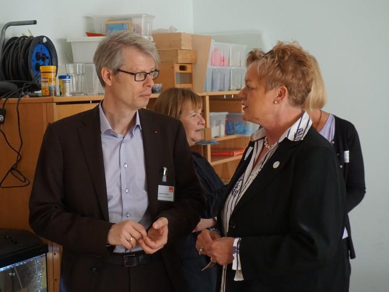 Andreas Kugler auf herbstlicher Kieztour - Fraktion-vor-Ort in Steglitz am 15.10.2018
