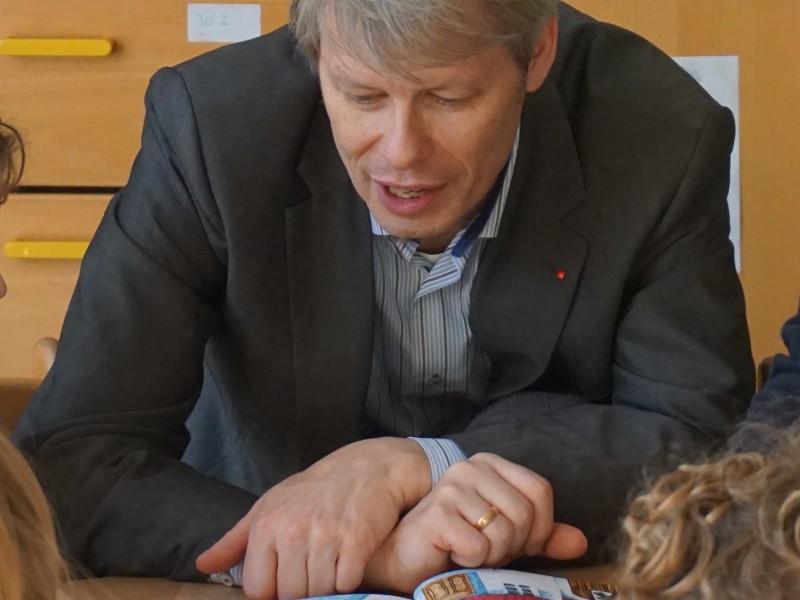 Andreas Kugler auf Vorlesetour am Bundesweiten Vorlesetag