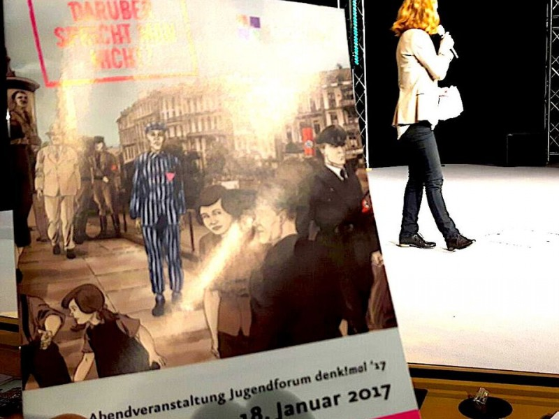 Darüber spricht man! 14. Jugendforum denk!mal im Berliner Abgeordnetenhaus