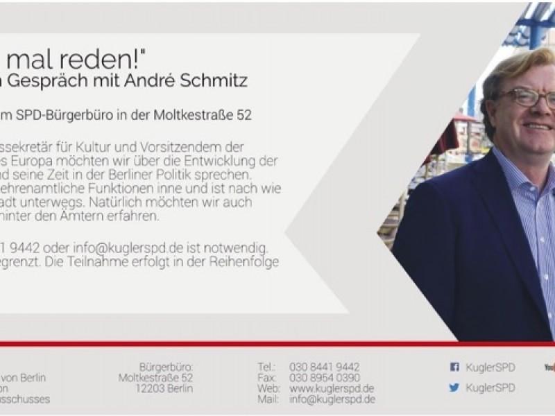 """""""Wir müssen mal reden!"""" mit André Schmitz"""