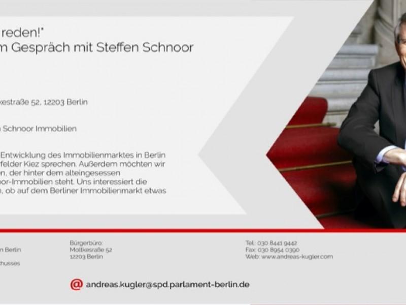 """""""Wir müssen mal reden!"""" mit Steffen Schnoor"""